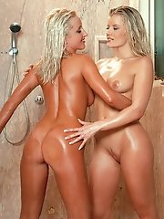 have an amazing shower together